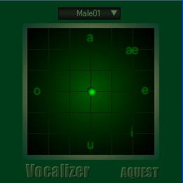 Vocalizer - human voice filter VST plug-in